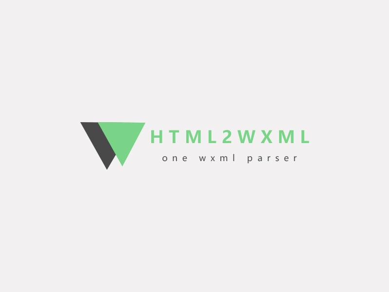 html2wxml