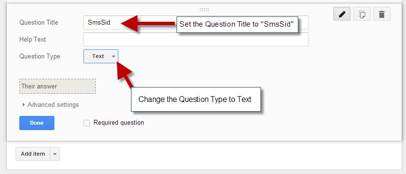 Create a Question