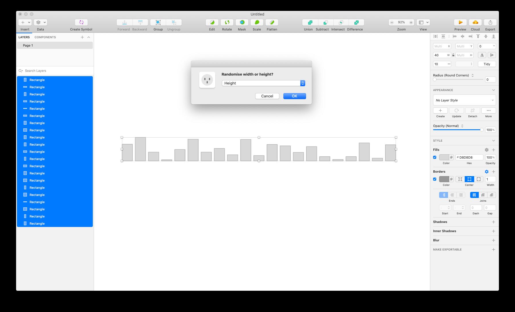 Github Longzheng Sketch Randomsize Sketch Plugin To Randomly Resize Selected Elements