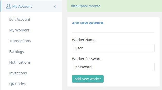 Add a Worker