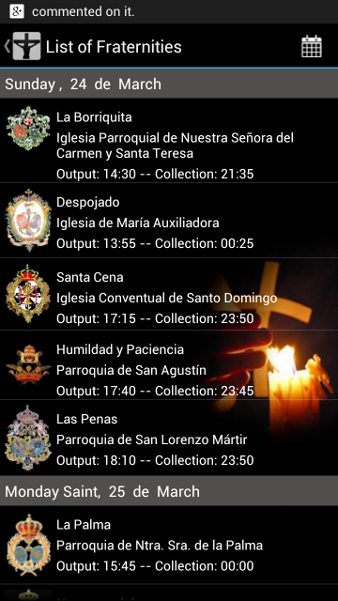 Holy-Week-Guide screenshot