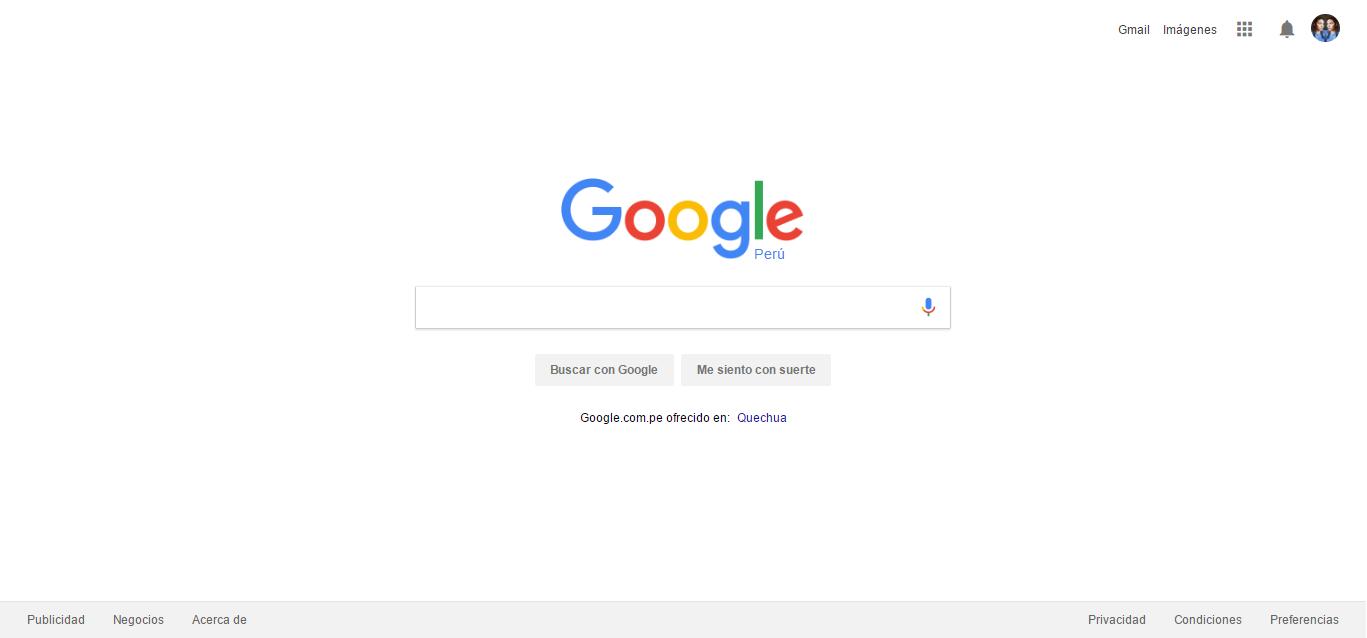 Google-Homepage by Andromeda
