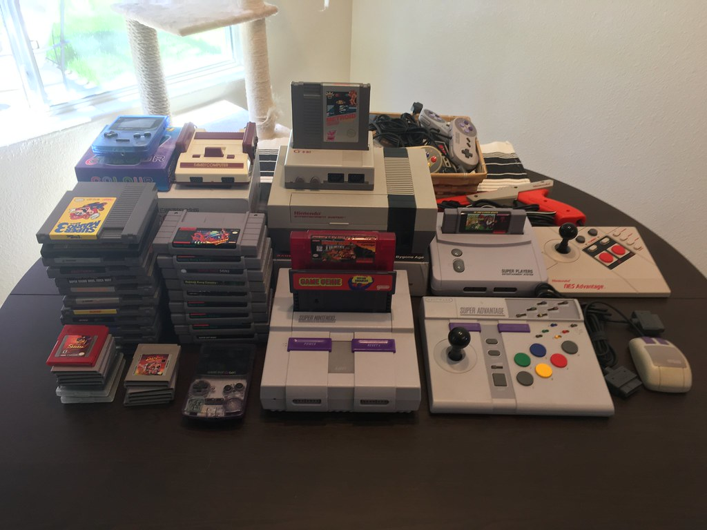 Current Nintendo collection