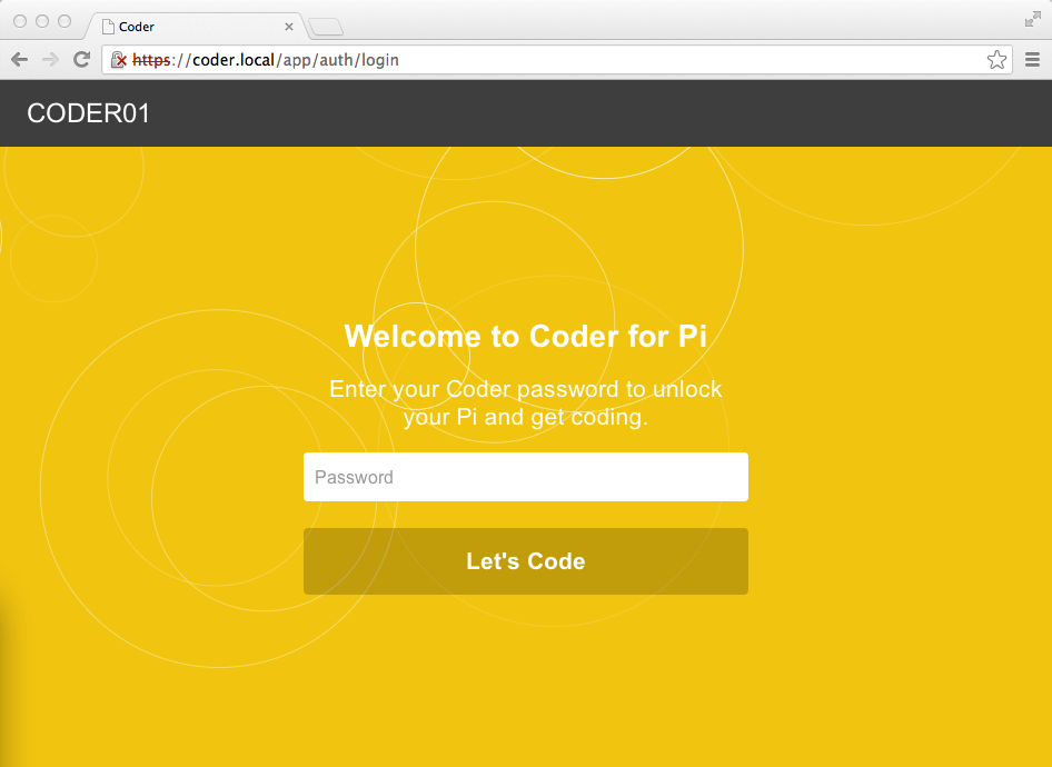 custom coder login