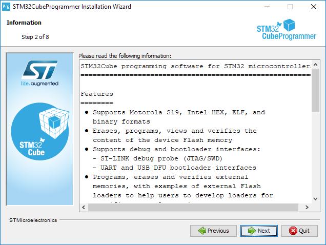 Install programmer step 2