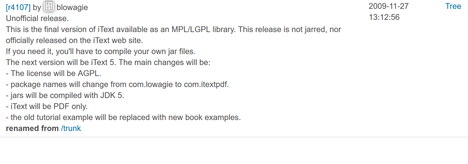 OpenPDF License MPL LGPL background info · LibrePDF/OpenPDF Wiki
