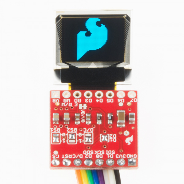 GitHub - sparkfun/Micro_OLED_Breakout: Breakout board for a