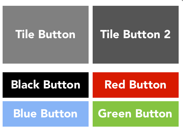 Glossy Button Example
