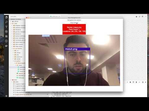 Python ile Yüz Tanıma - Youtube
