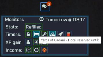 General Monitor's icon & UI
