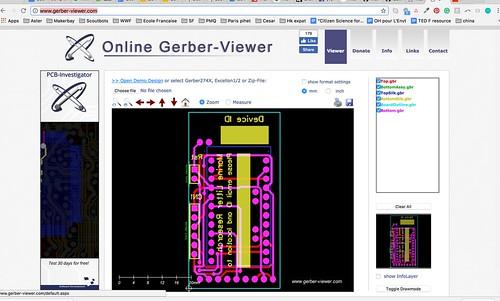 Gerber file