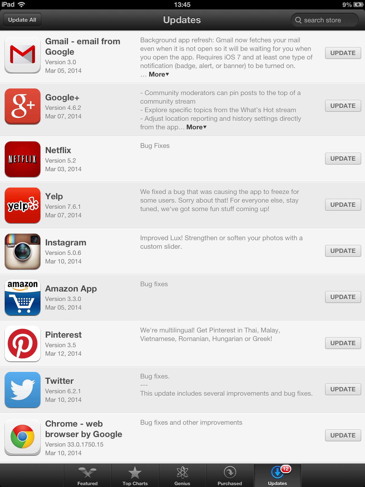 iOS 6 updates fullscreen