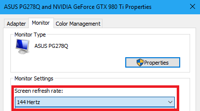Make sure your monitor is set to the highest Refresh rate possible
