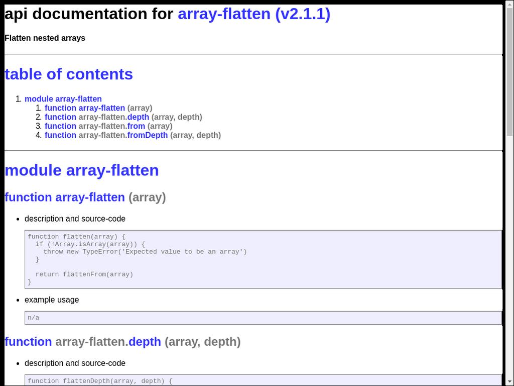 GitHub - npmdoc/node-npmdoc-array-flatten