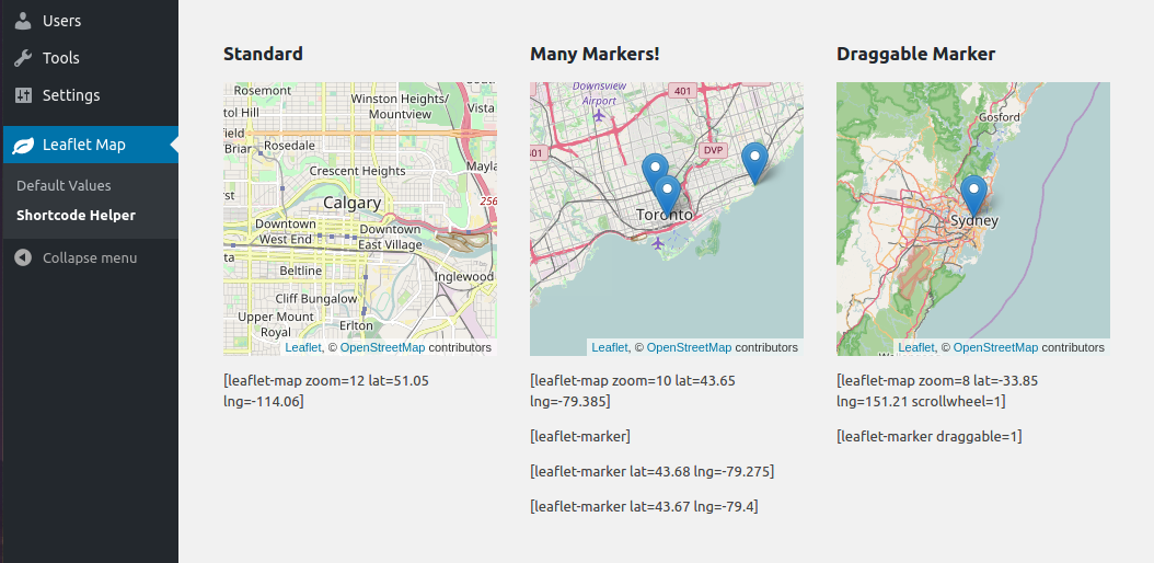 GitHub - bozdoz/wp-plugin-leaflet-map: Add leaflet maps to Wordpress