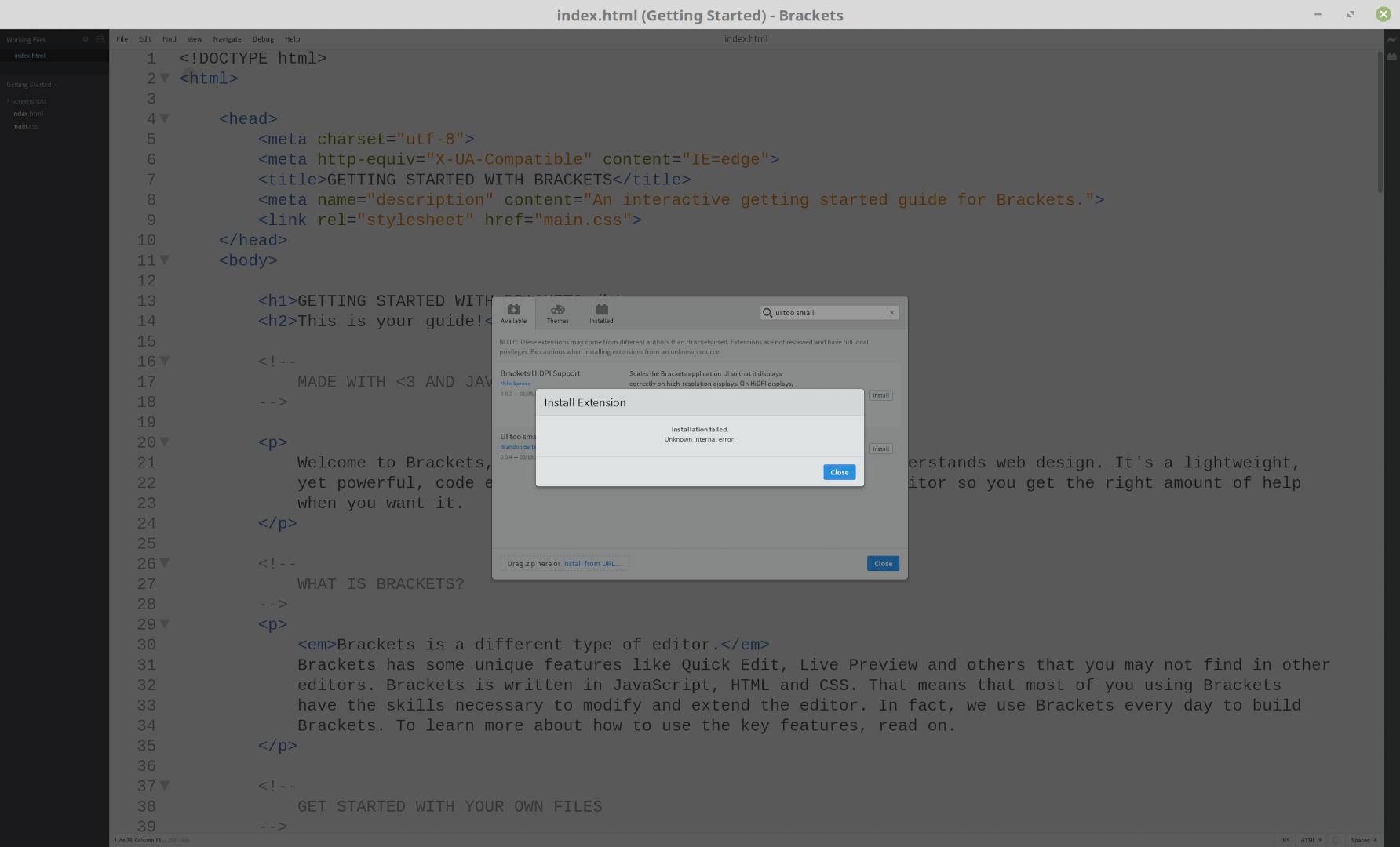 enable javascript linux mint