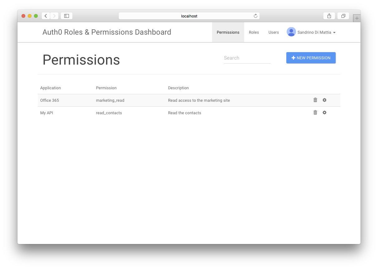 farmers/auth0-roles-permissions-dashboard-sample - Libraries io