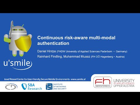 Continuous risk-aware multi-modal authentication