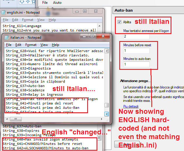 LANGUAGE] INI not being fully read/adhered for Hmailadmin