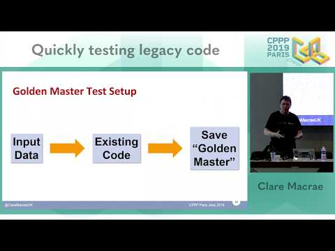 Quickly Testing Legacy Code Video