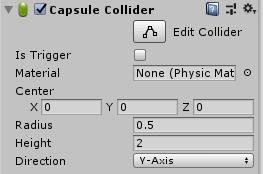 CapsuleCollider