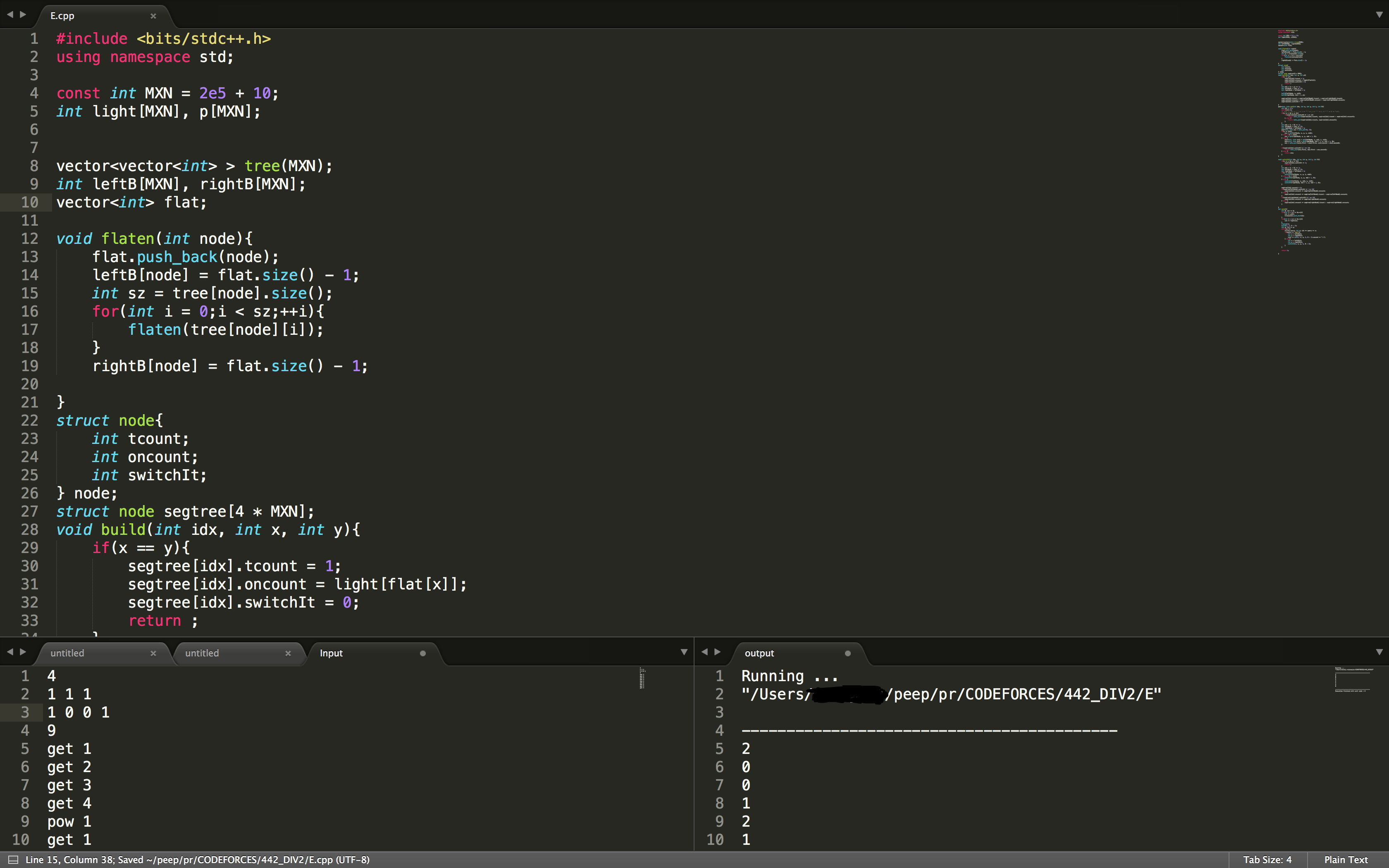 Github Regarm Competitiveprogrammingexecute Sublime As An Ide For Competitive Coding