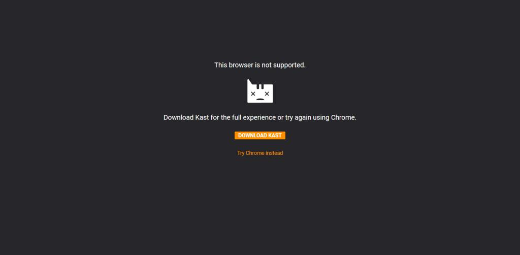 W Kastapp Live Firefox Browser Is Not Supported Issue 45538 Webcompat Web Bugs Github