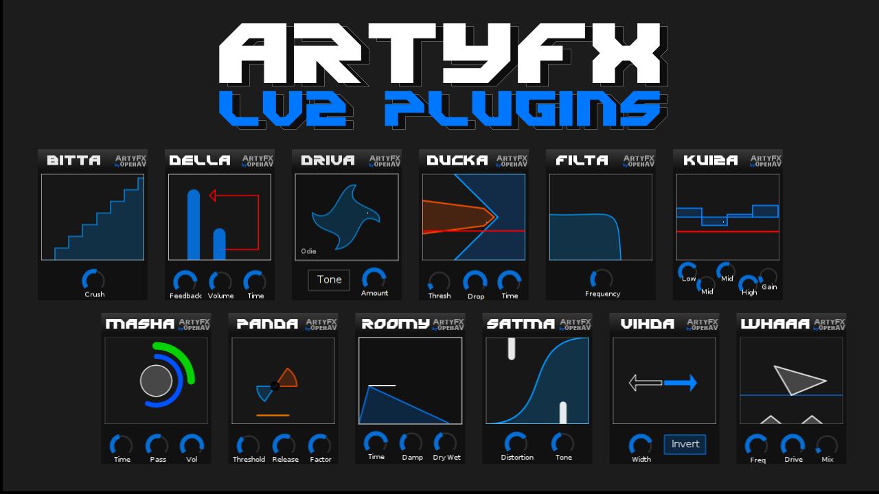 ArtyFX screenshot