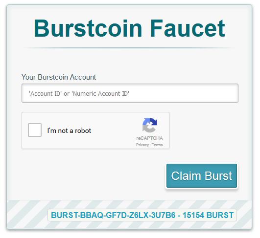 Image of Burstcoin-Faucet