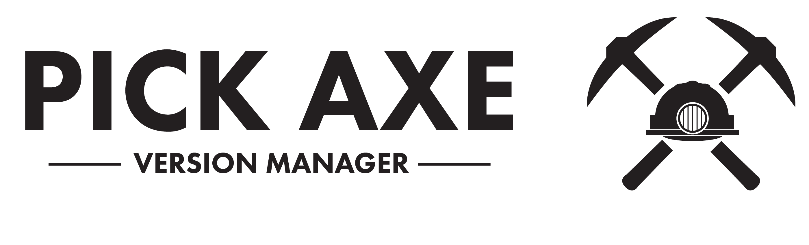 Pick Axe Version Manager
