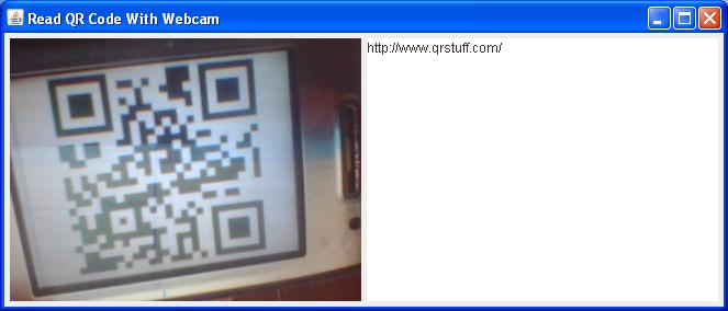 QR Code Example Application