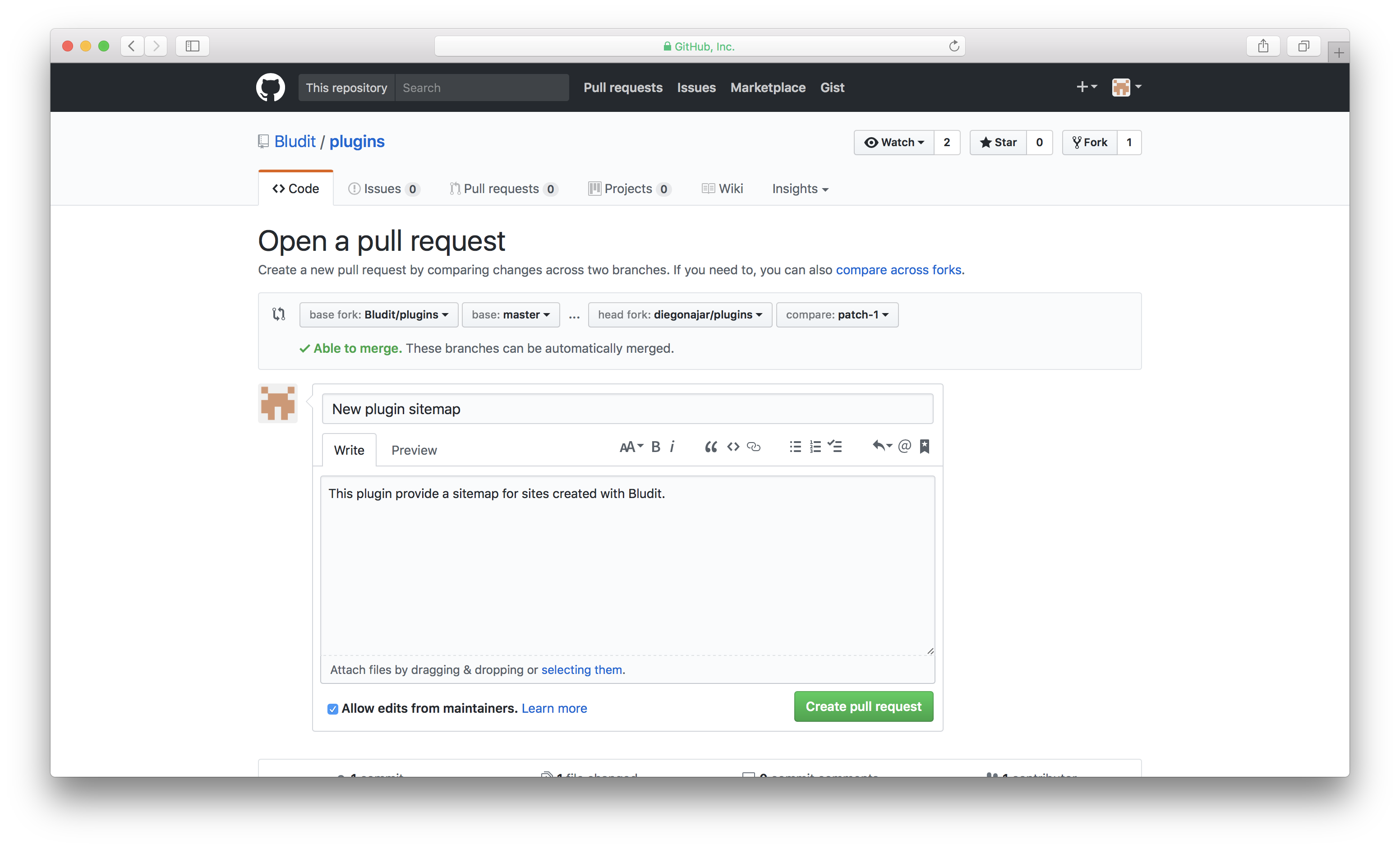 How to create a Pull Request 5