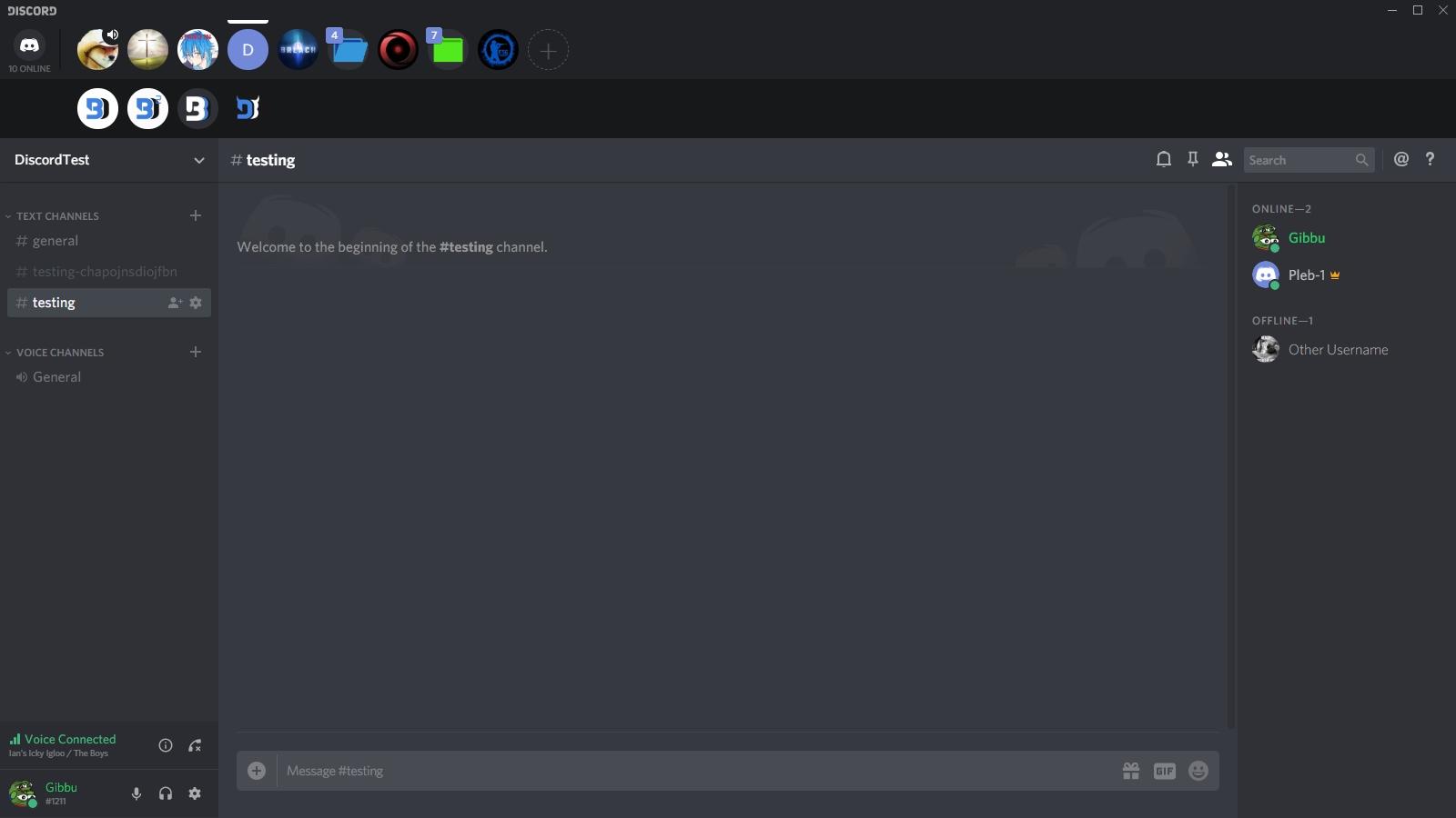 ServerFolders Support