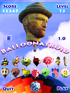 PureMVC AS2 Demo: Balloonatroid