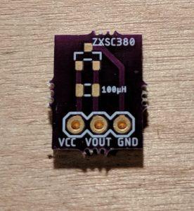 ZXSC380 Breakout Board