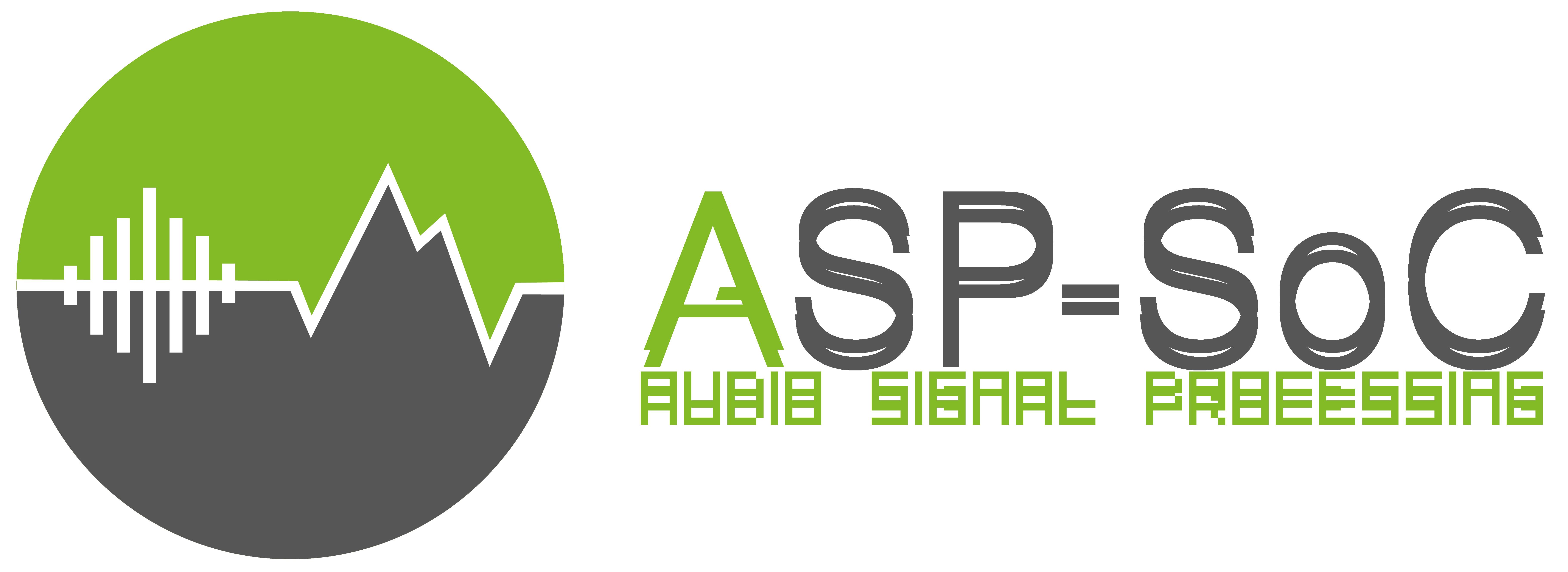 GitHub - ASP-SoC/ASP-SoC: Audio Signal Processing SoC