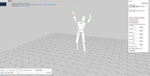 GitHub - akjava/BVH-Motion-Creator: bvh motion player and tools