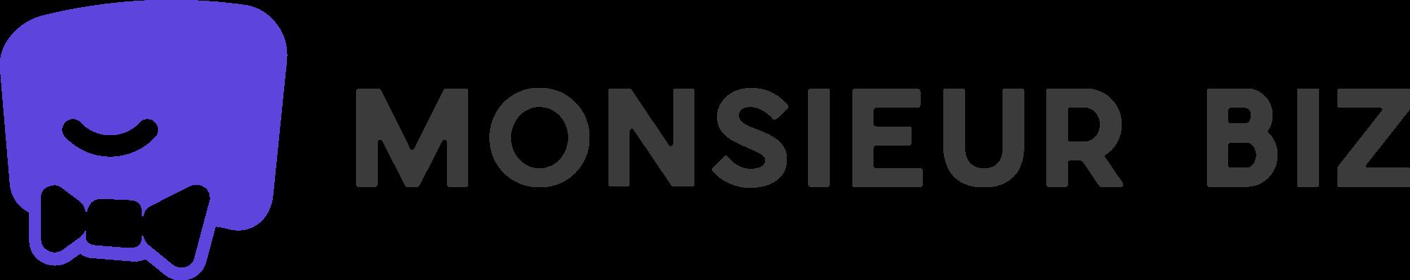 Monsieur Biz logo