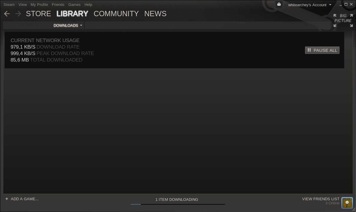 steam downloading