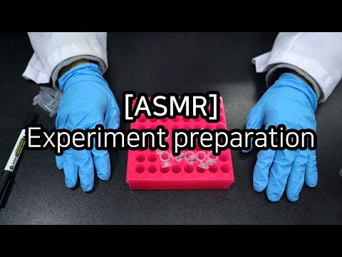 ASMR - Experiment preparation