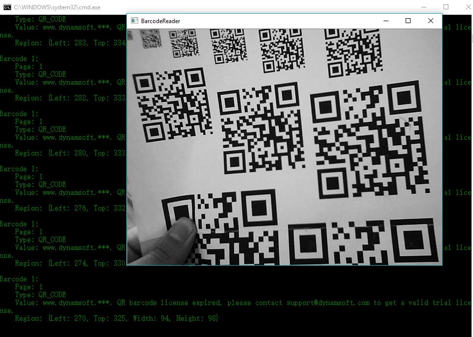 GitHub - dynamsoft-dbr/cplusplus-webcam-barcode-reader