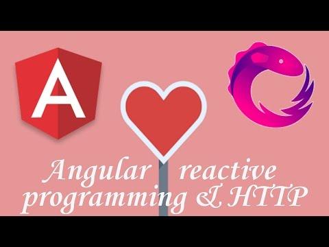 Thumbnail Angular Programmation Reactive & HTTP Module tutorial