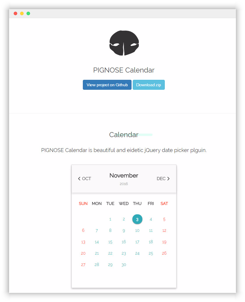 GitHub - KennethanCeyer/pg-calendar: beautiful and eidetic date picker