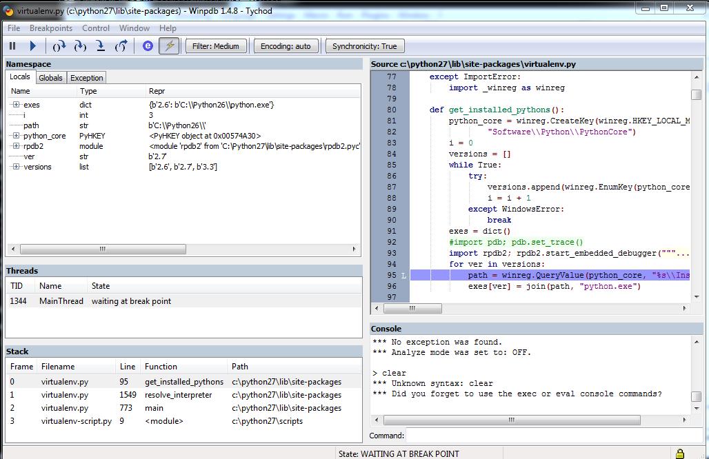 fichier python27.dll