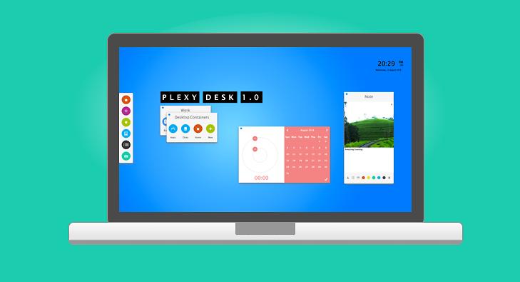 PlexyDesk Screenshot