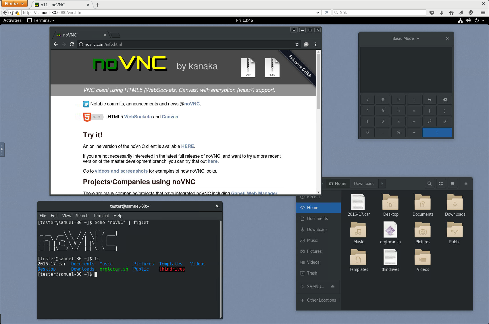 GitHub - novnc/noVNC: VNC client using HTML5 (WebSockets, Canvas)