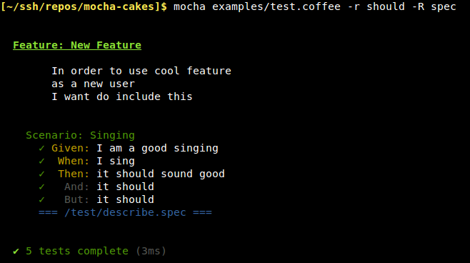 Mocha-Cakes Pretty Output