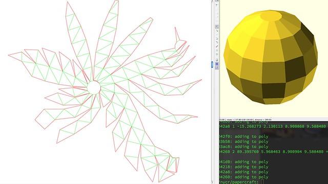Unfolded sphere
