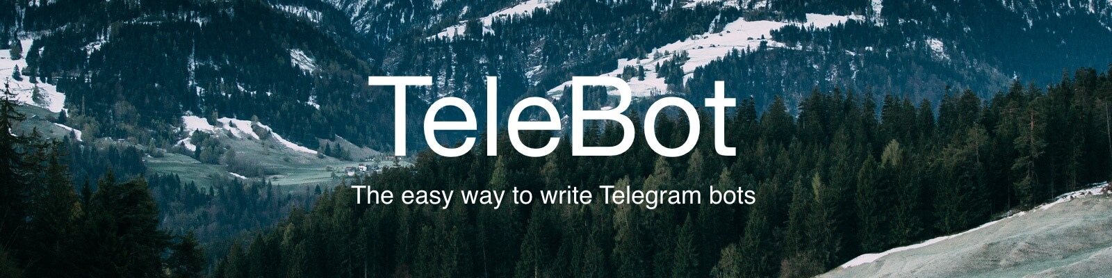 GitHub - mullwar/telebot: The easy way to write Telegram